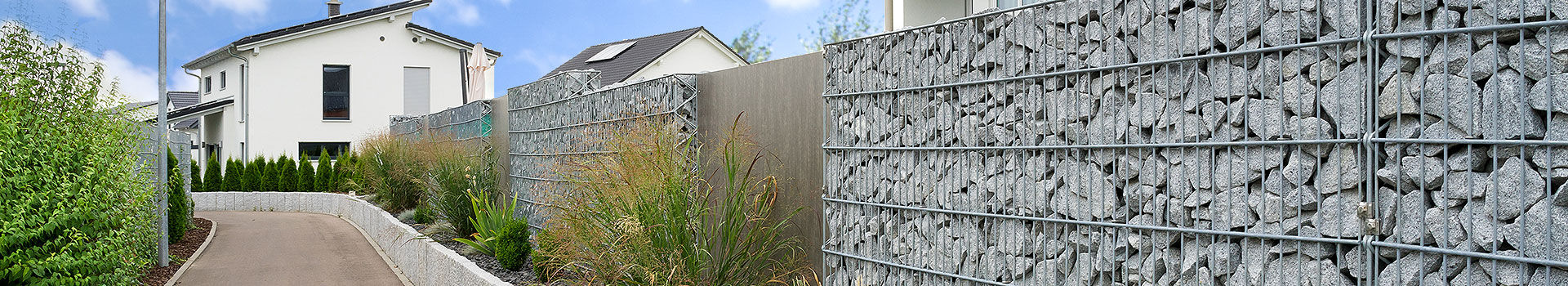 Mauern als Sicht-und Lärmschutz, Raumteiler
